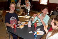"Cast party for ""You're A Good Man Charlie Brown,"" held at the Foxboro Community Center, after the show, which ran March 31 through April 2, 2006."